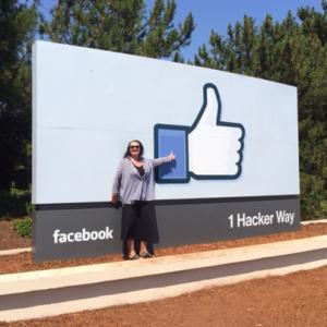 YES! Så tjekkede vi lige ind ved Facebook HQ i Menlo Park