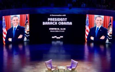 Mit møde med Obama i Aalborg